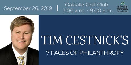 Oakville Community Foundation presents a Morning Seminar with Tim Cestnick tickets