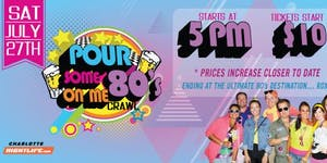 Pour Some 80's On Me Bar Crawl