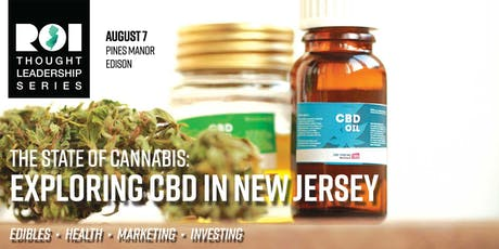 The State of Cannabis: Exploring CBD in New Jersey  tickets