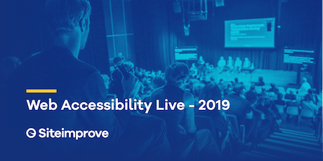 Web Accessibility Live - 2019 tickets