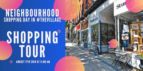 Shopping Tour of #TheVillage! tickets