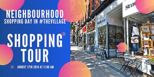 Shopping Tour of #TheVillage!