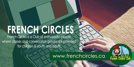 French Classes in Mississauga (Meadowvale Mondays and Fridays) tickets