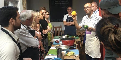 Afghan cookery class with Hadi (Vegetarian)