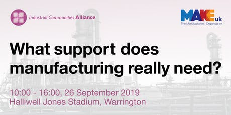 What support does manufacturing really need? tickets