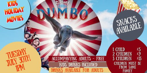 Kids Summer Films - DUMBO