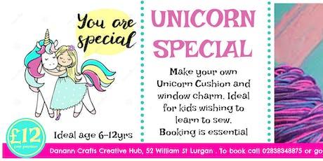 Crafty Unicorn Special tickets
