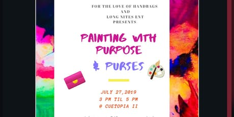 Painting with Purpose & Purses tickets