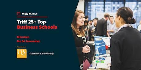 QS MBA-Messe München mit Top Business Schools (Eintritt frei) tickets