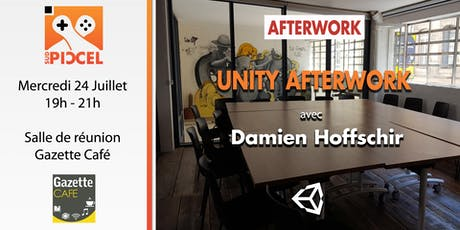 Sud PICCEL - Unity Afterwork#14 avec Damien Hoffschir tickets