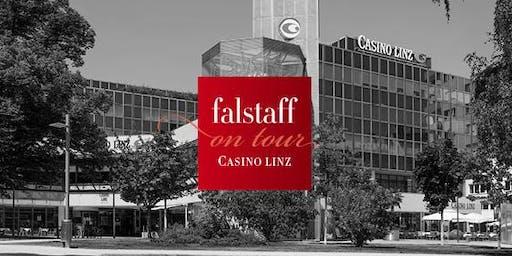 Falstaff on tour: Weingala im Casino Linz