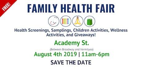 FAMILY HEALTH FAIR - FERIA FAMILIA Y SALUD tickets