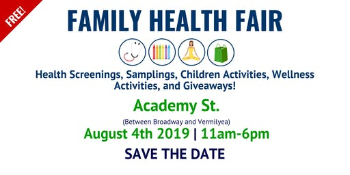 FAMILY HEALTH FAIR - FERIA FAMILIA Y SALUD