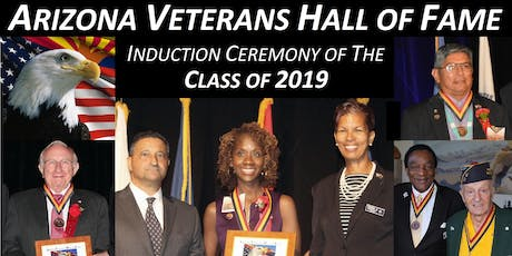 2019 Arizona Veterans Hall of Fame (AVHOF) Induction Ceremony tickets
