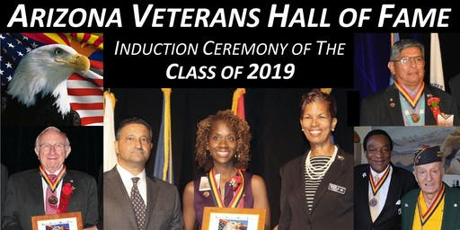 2019 Arizona Veterans Hall of Fame (AVHOF) Induction Ceremony