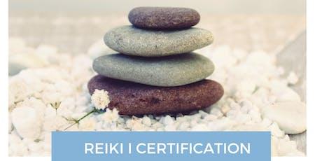 REIKI I -SHODEN- CERTIFICATION tickets