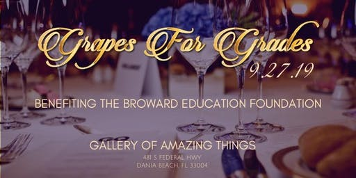 Grapes for Grades | 17th Annual Scholarship Fundraiser