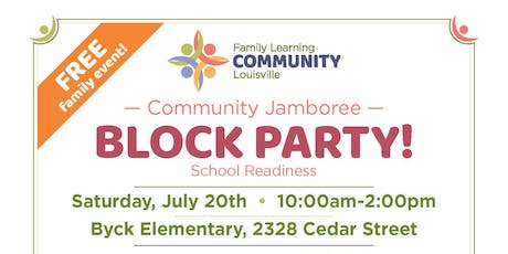 JCPS District 1 Community Jamboree - Block Party tickets