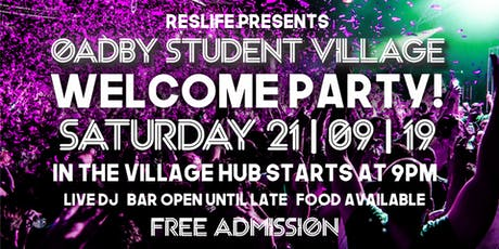 OSV Welcome Party tickets