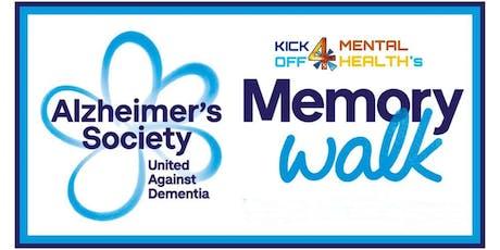 Barrow's Memory Walk tickets