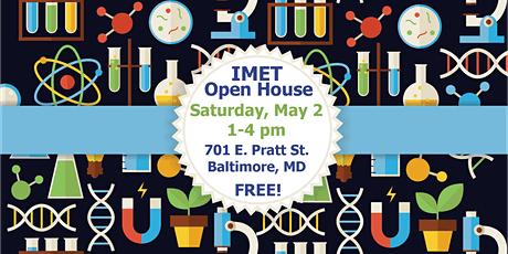 2020 IMET Open House tickets