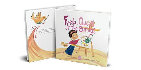 Book Reading: Frida, Queen of the Canvas