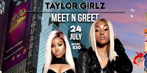 TAYLOR GIRLZ BROOKLYN NYC MEET & GREET
