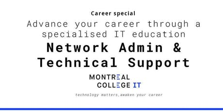 Career pathway program in Networking and Technical Support  billets