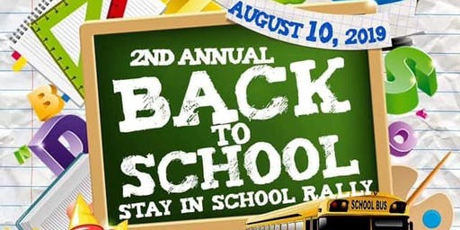 Matteson Village Clerk Yumeka Brown Presents: 2nd Annual Back to School - Stay in School Rally: