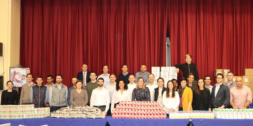 Young Catholic Renewal prepares for the Thanksgiving Food Distribution