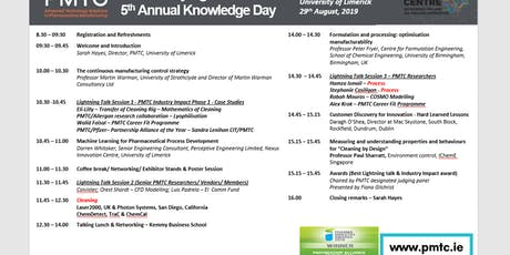 Pharmaceutical Manufacturing Technology Centre (PMTC) 5th Annual Knowledge Day  tickets