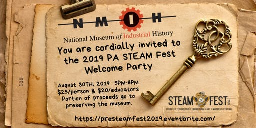 PA STEAM Fest Welcome Party 2019