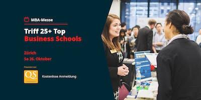 QS MBA-Messe Zürich mit Top Business Schools (Eintritt frei)