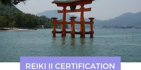REIKI II Certification OKUDEN tickets