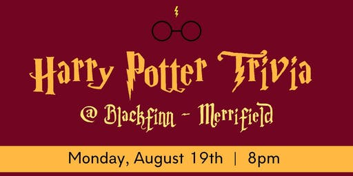 Harry Potter Trivia Night @ Blackfinn!