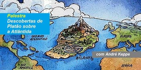 Dr. André Keppe - Palestra Descobertas de Platão sobre a Atlântida ingressos