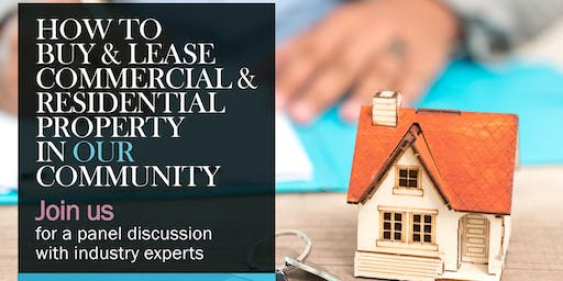 How to Buy and Lease commercial property in our community.