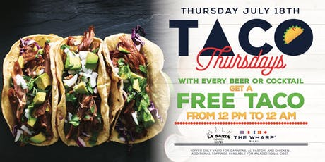Taco Thursdays at The Wharf Miami tickets
