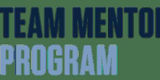 TEAM Mentor Program Info Session--7/26/19