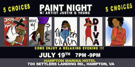 Loving Me Paint Night tickets