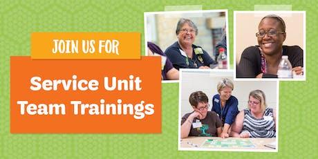 Service Unit Team Trainings tickets