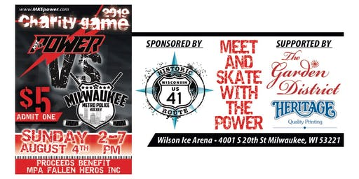 Meet the Power Day: Charity Game vs Milwaukee Metro Police