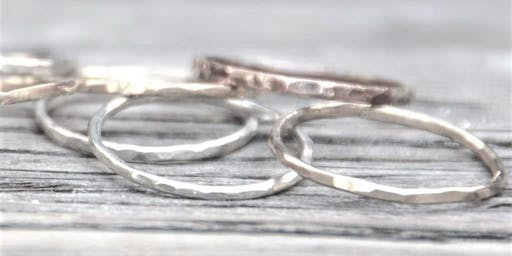 Stackable Silver Rings