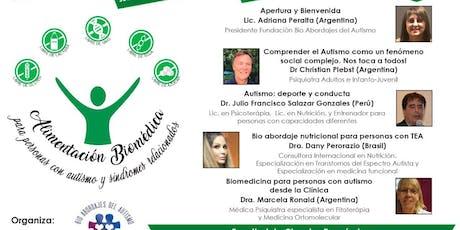 """JORNADA INTERNACIONAL BIOMEDICA """"MIREMOS DIFERENTE: NUTRICION, CONDUCTA Y DEPORTE"""" entradas"""
