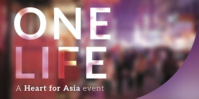 One Life, a Heart for Asia Event