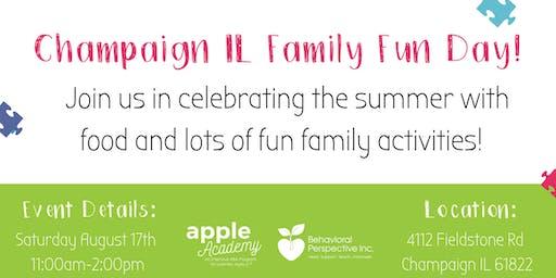 Champaign IL Family Fun Day!