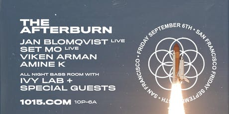 The Afterburn: JAN BLOMQVIST (live), IVY LAB, GOLDCAP  at 1015 FOLSOM tickets