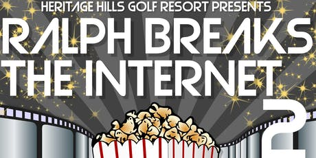 Ralph Breaks The Internet 2 tickets