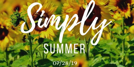 Simply Summer tickets