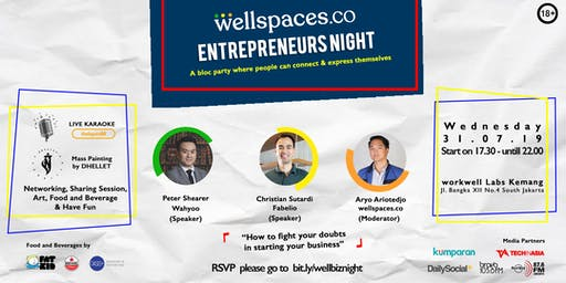 WELLSPACES ENTREPRENEURS NIGHT
